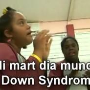 Dia mundial di Down Syndrome